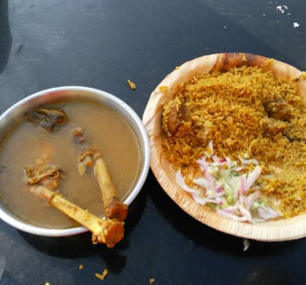 hoskote dum biriyani and leg soup